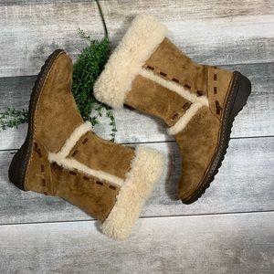 {UGG} sheepskin boots
